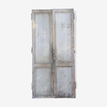 Pair of doors XVIII