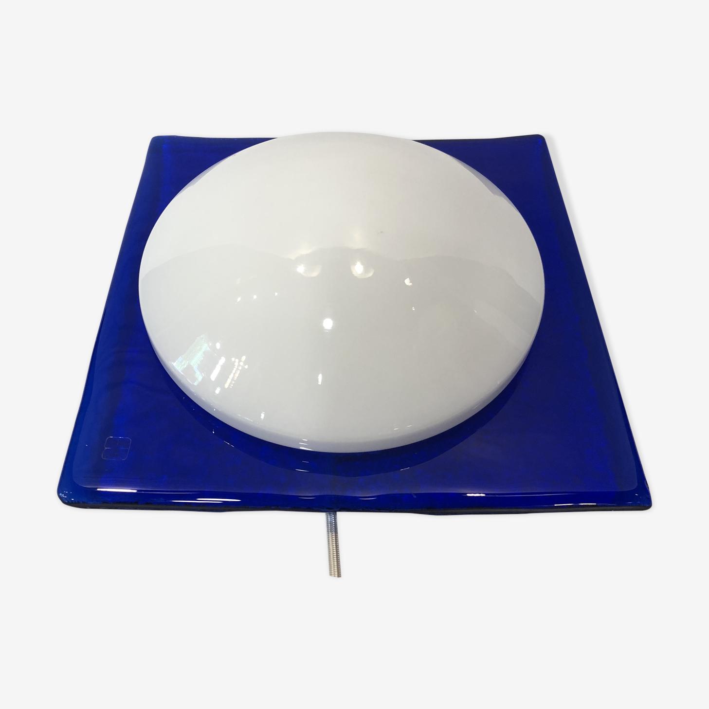 Wall light  blue Murano glass