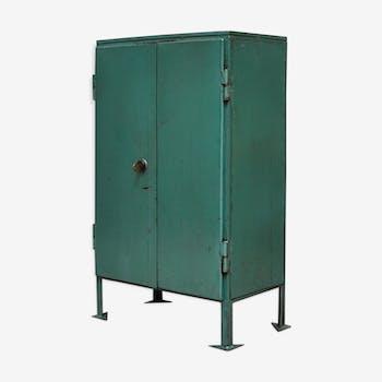 Meuble de rangement vintage d 39 occasion for Meuble cabinet industriel