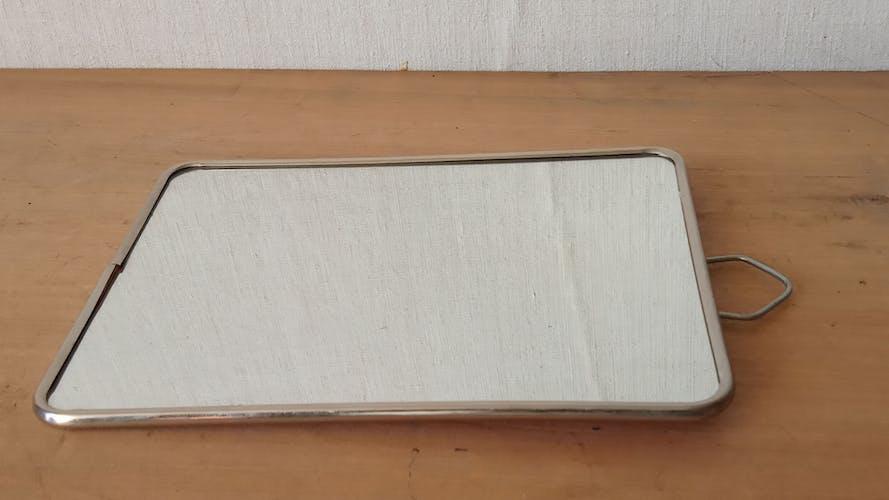Miroir de barbier 17×23 cm