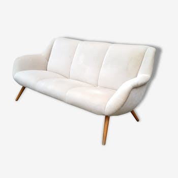 Canapé sofa années 50/60 original vintage design Organique