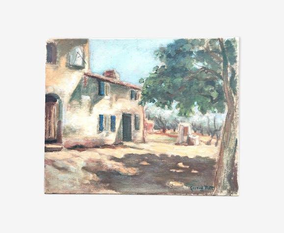 Paysage provençal