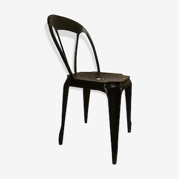 Chaise design industrielle scandinave vintage d 39 occasion - Chaise de bistrot ancienne ...
