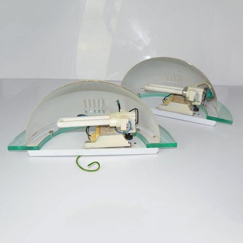 Une paire d'appliques Smart Team Corporation, Type 201, Allemagne, années 1980