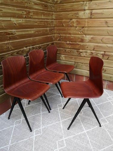 Set de 4 chaises Galvanitas s19