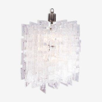 Great model chandelier for Mazzega Carlo Nason 1960