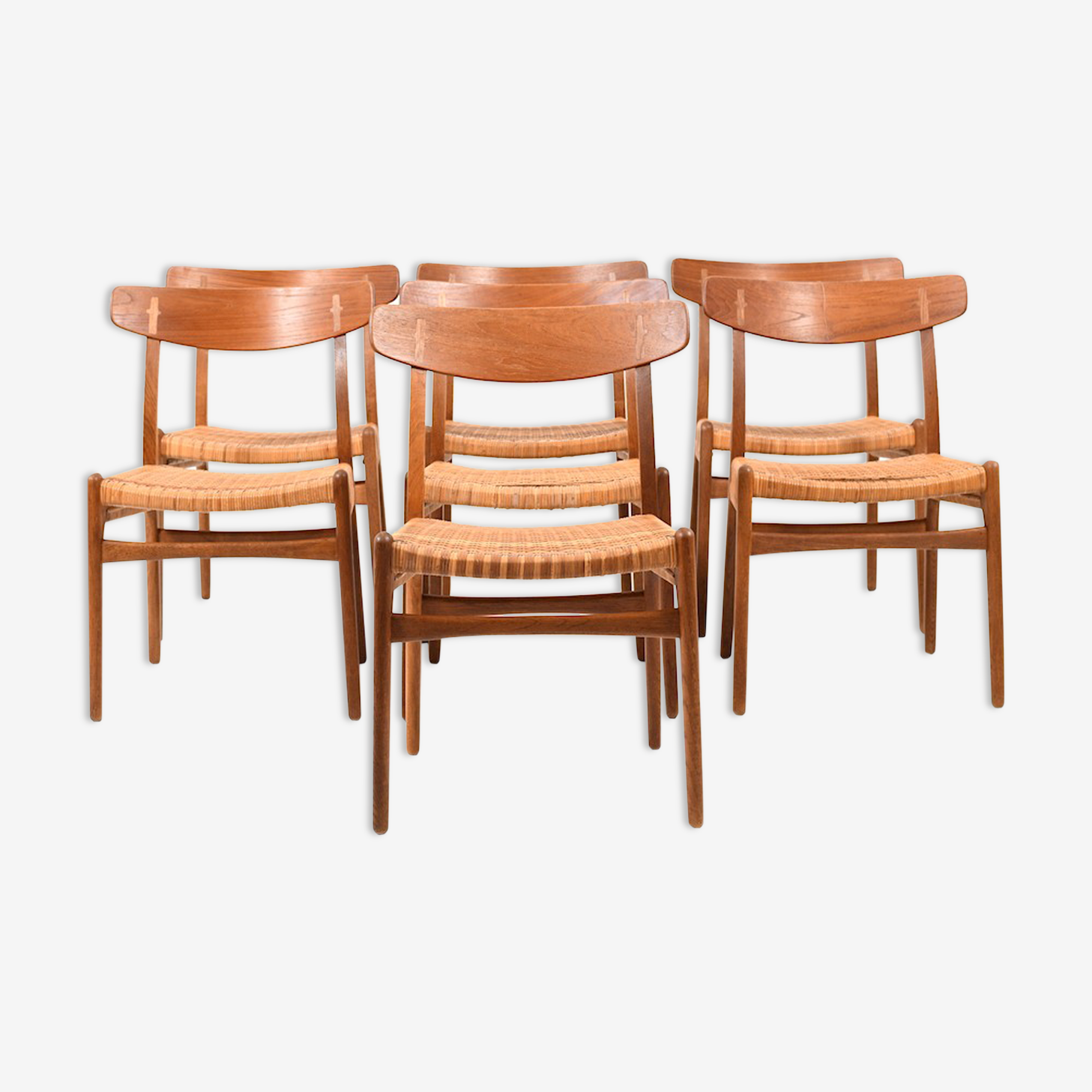 Chairs by Hans J Wegner for Carl Hansen & Son