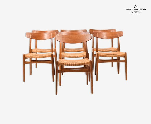 Chairs by Hans J Wegner for Carl Hansen & Son