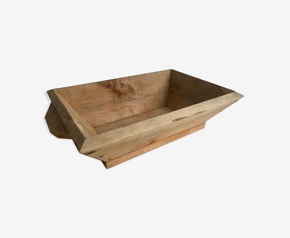 Bac en bois brut