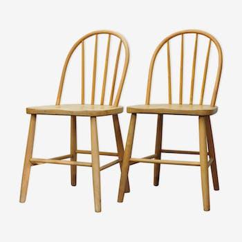 Two Scandinavian chairs