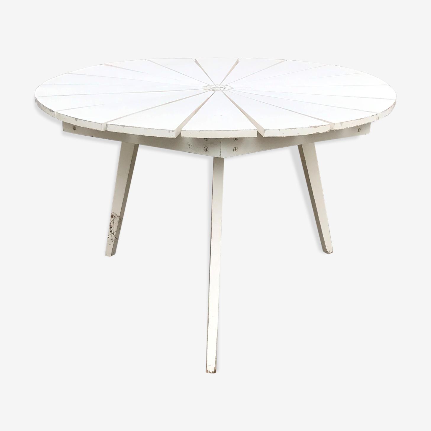 Table ronde pliantes 3 pieds