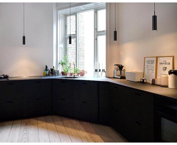 Suspension Nordlux « MIB 3.5 » noir/chrome