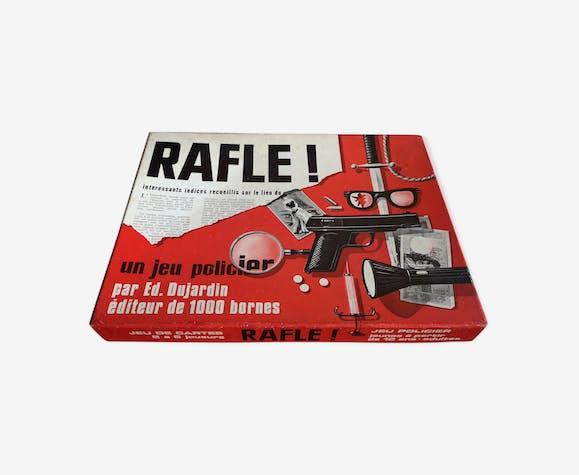 Jeu policier La Rafle éditions Dujardin 1970