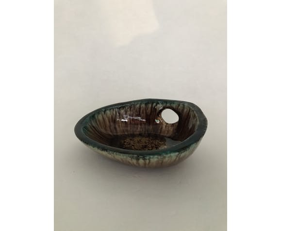 Vide-poche en céramique émaillée, Accolay, vers 1950-1960