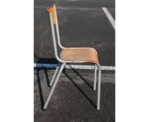 Chaise adulte Mullca gris clair