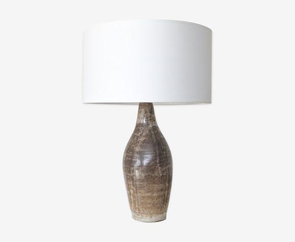 Table lamp ceramic, stoneware, of 1960