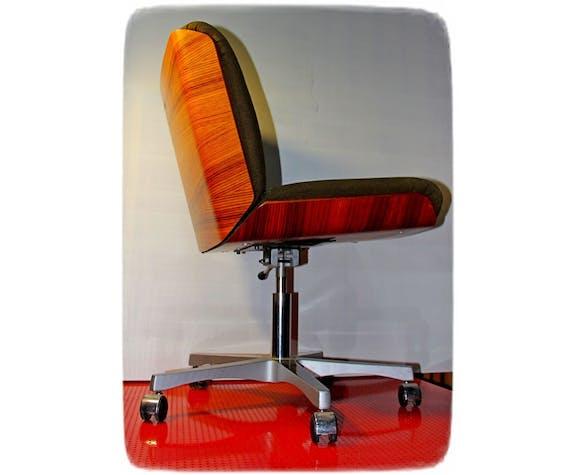 Chaise de bureau palissandre