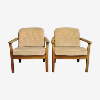 Set of 1960 armchairs
