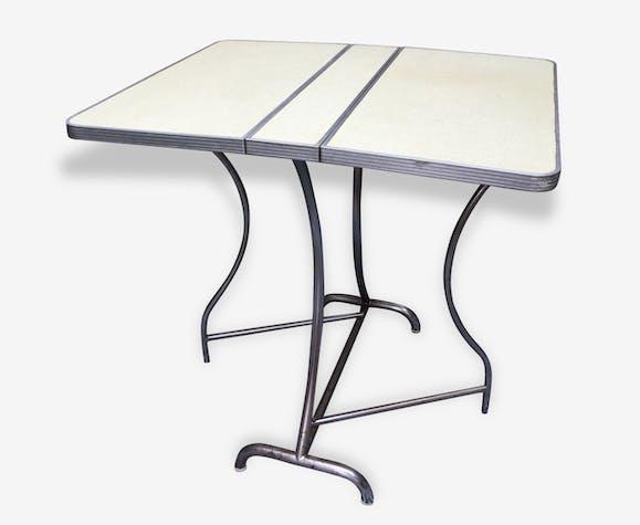 Pliable 70135 En Roc Blanc Vintage Table Formica nk8X0OPw