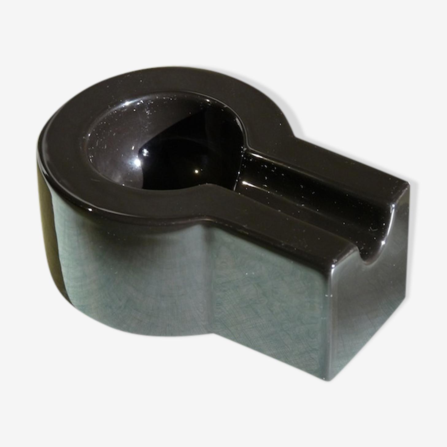 80's - design Ettore Sottsass for Habitat - ceramic ashtray