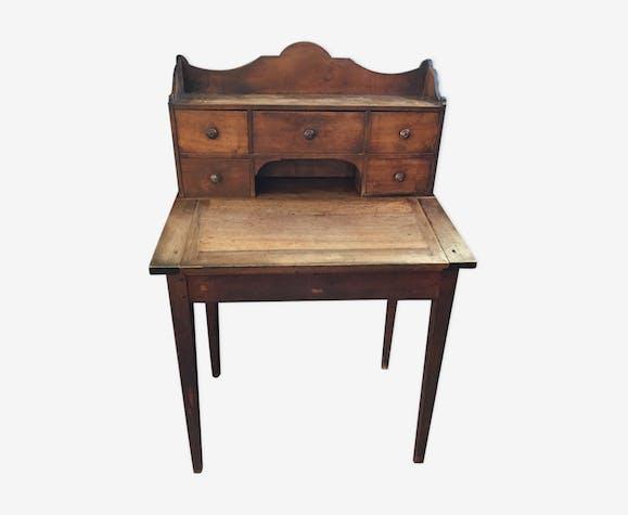 Bureau pupitre ancien en bois bois mat riau bois couleur classique il30a9b - Bureau bois ancien ...