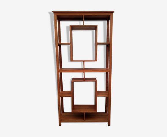 Furniture library and/or presentation, storage, exotic wood