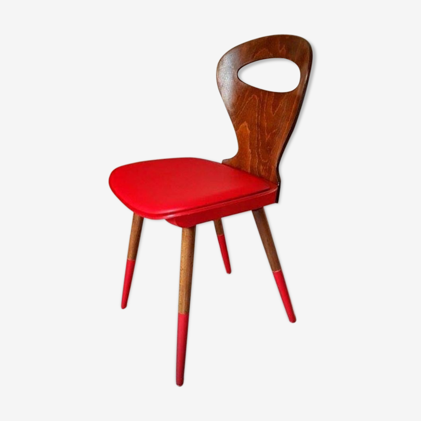 Baumann Chair, relooked with original seat