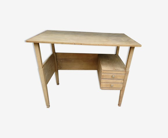 bureau ch ne clair d cap bois mat riau bois. Black Bedroom Furniture Sets. Home Design Ideas