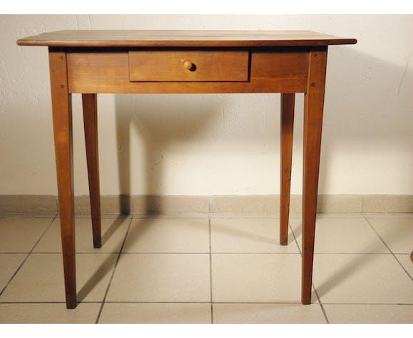 Table bureau en merisier