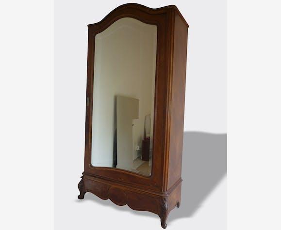 armoire ancienne avec glace biseaut e bois mat riau classique 7304. Black Bedroom Furniture Sets. Home Design Ideas