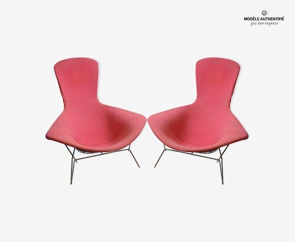 Paire de fauteuils 'bird' Harry Bertoia