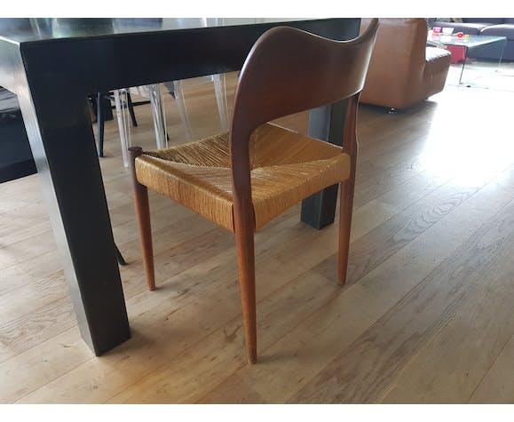 Lot de 6 chaises de Niels O. Moller