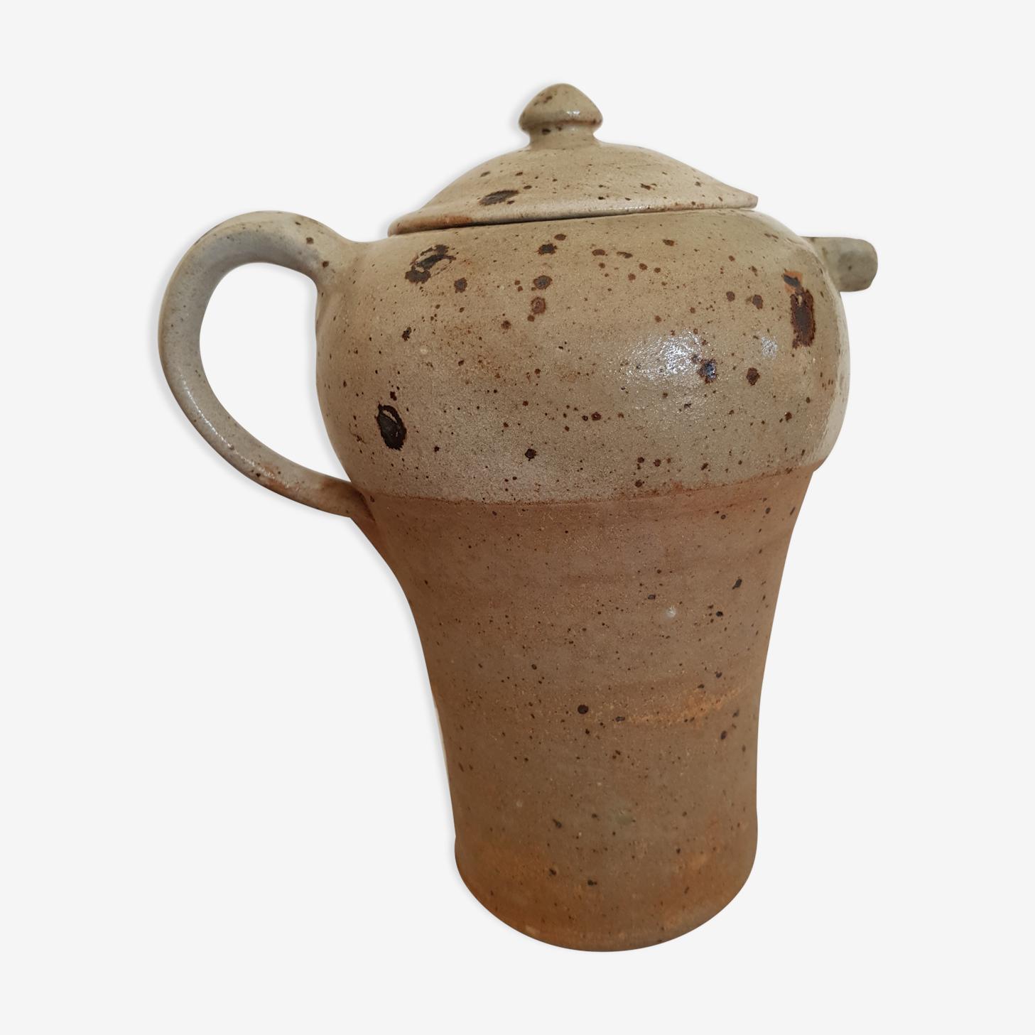 Sandstone pyrite pitcher