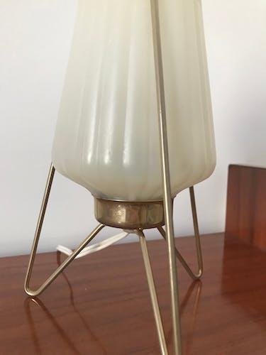 Lampe tripode années 50