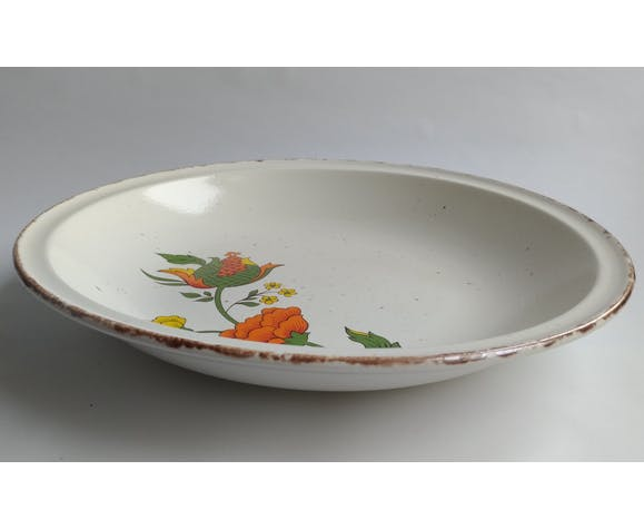 Hollow dish 30cm Gien Model China 1970