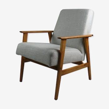 Vintage Fox easy chair in beige, 1970s
