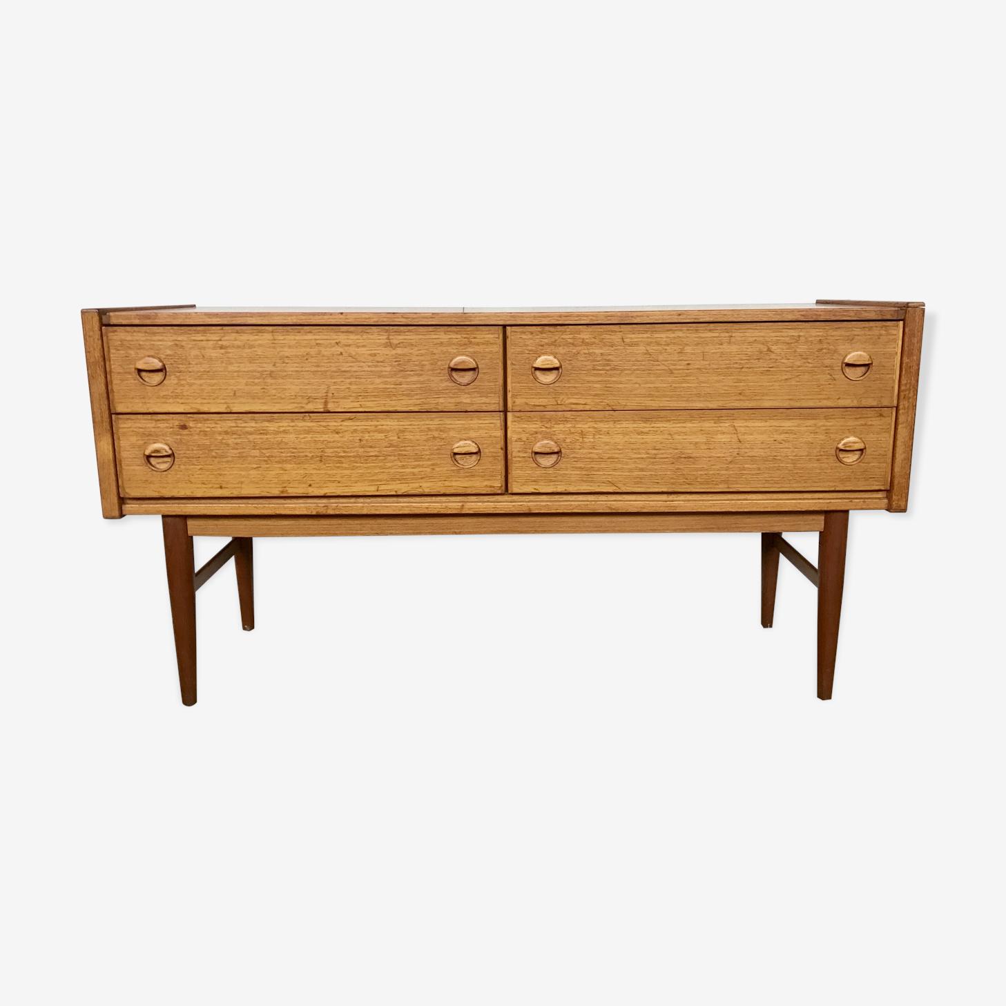 4 drawers scandinavian sideboard