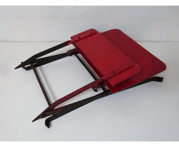 Ancienne chaise de bistrot pliante pour enfant