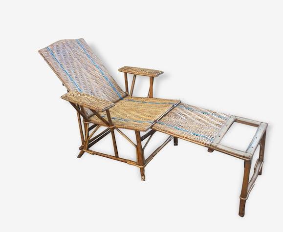 Chaise Longue Ancienne Vintage