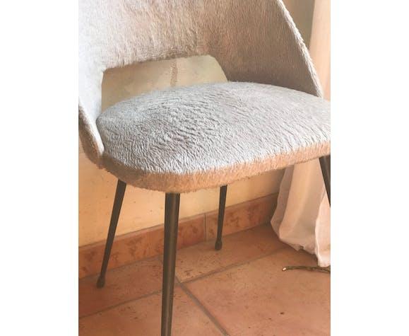 Chaise tonneau vintage