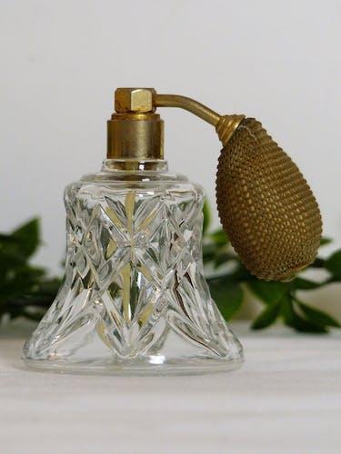 Old perfume spray bottle