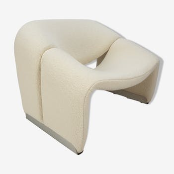 F598 Groovy armchair by Pierre Paulin for Artifort, 1980