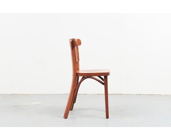 Chaise bistrot Hutten bois bois (Matériau) bois (Couleur