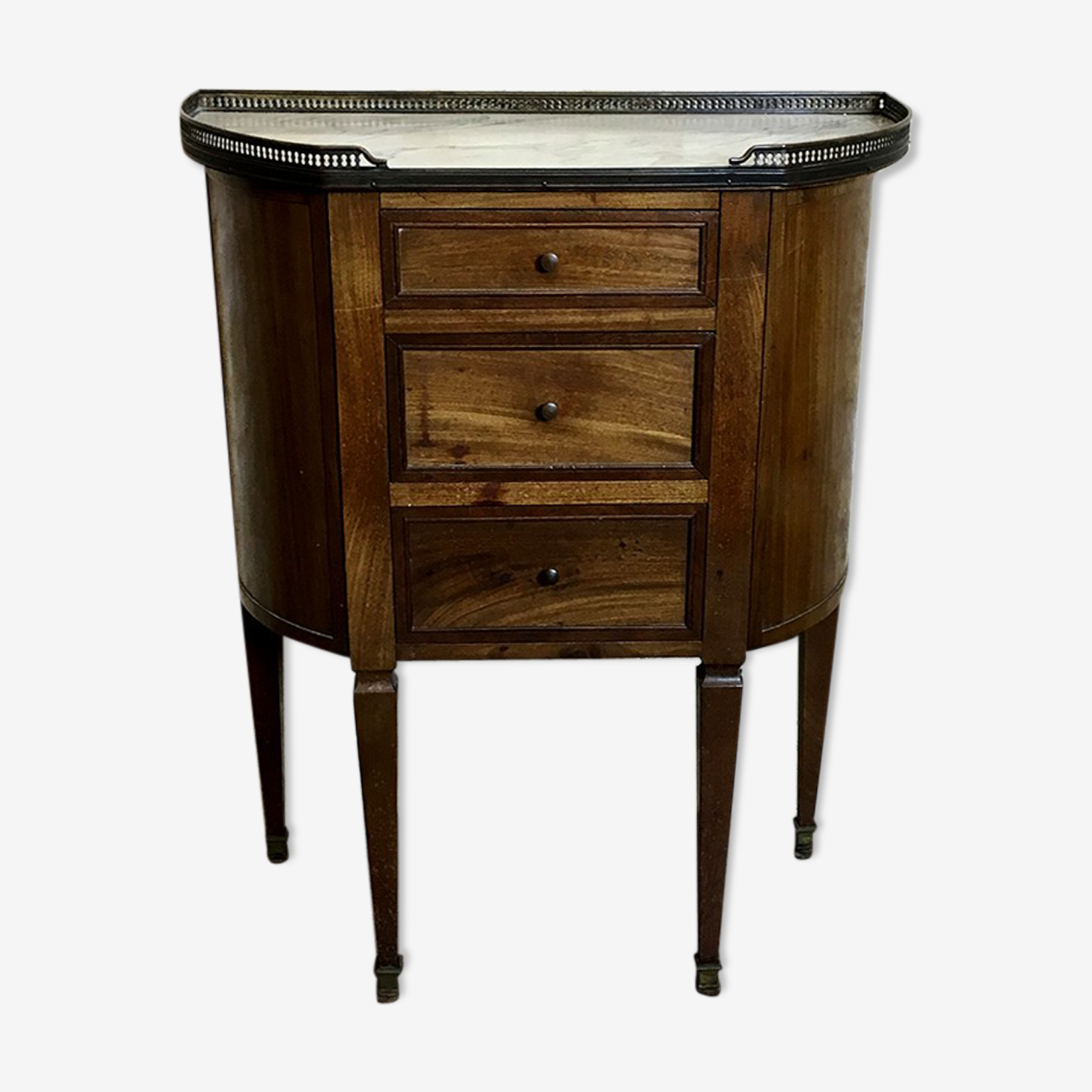 Chest of drawers middle XIX Louis XVI style