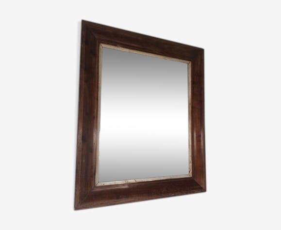 Miroir ancien bois 45x55cm