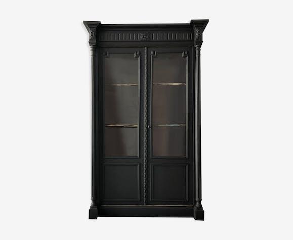 Armoire vitrée fin XIX ème siècle