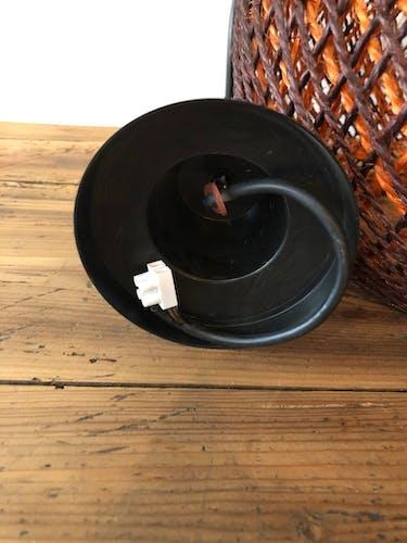 Suspension vintage en corde