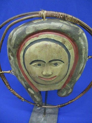 Masque inuit art tribal