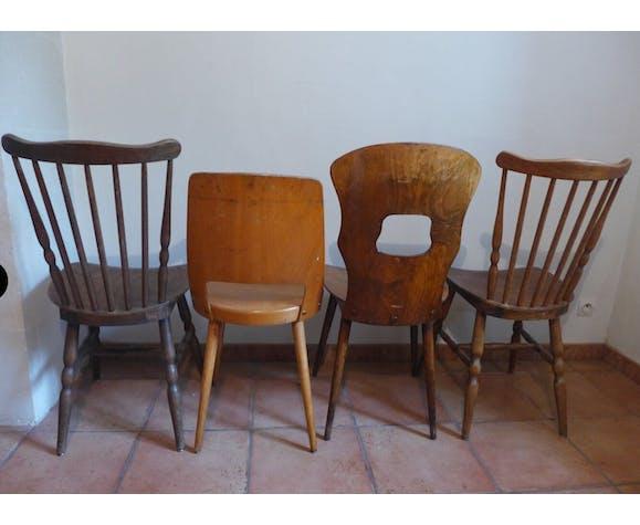 Suite de 4 chaises Baumann