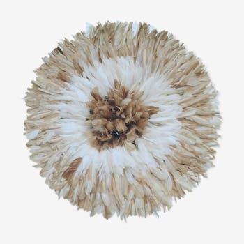 Juju hat white and beige 90 cm